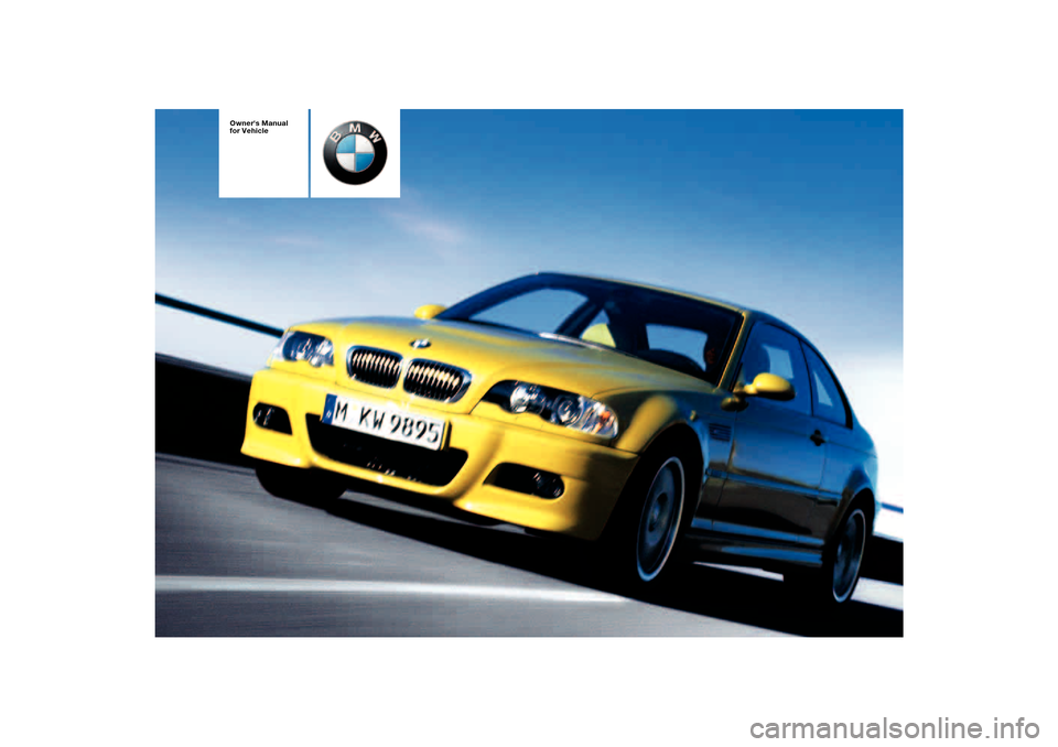 bmw m3 coupe 2004 e46 owner s manual rh carmanualsonline info 2016 BMW M3 Coupe 2013 BMW M3 Coupe