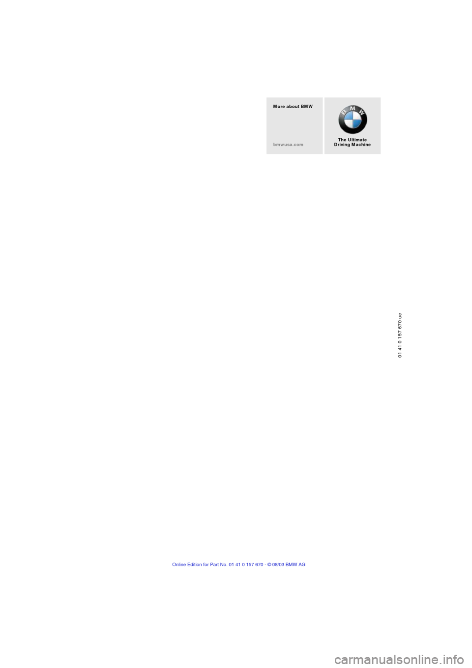 Bmw 745li 2004 e66 owners manual page 232