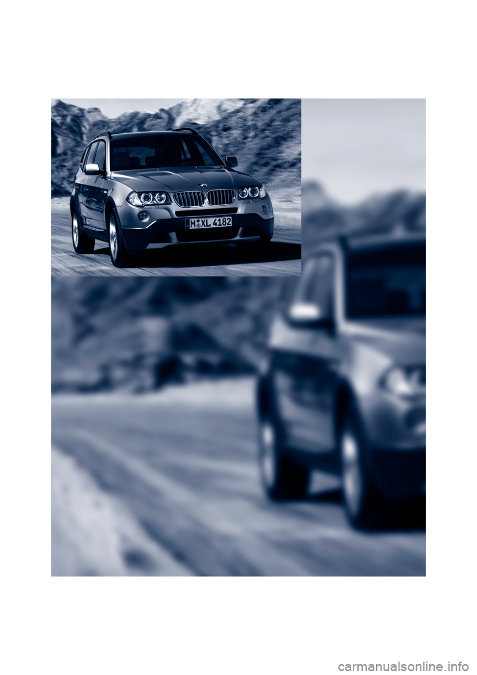 BMW X3 3.0SI 2007 E83 Owners Manual, Page 10