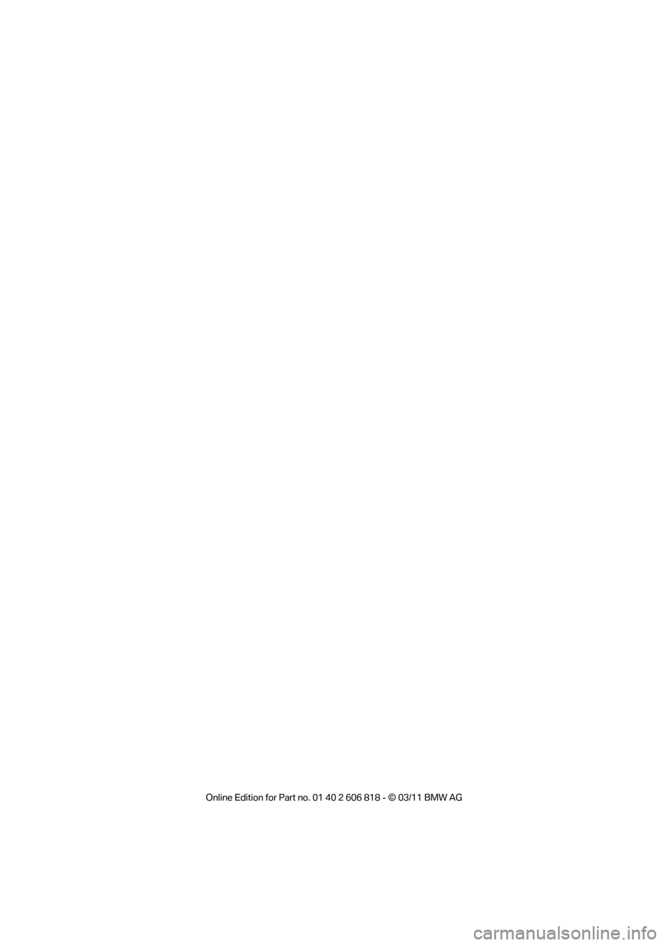 BMW 128I 2012 E88 Owners Manual, Page 2