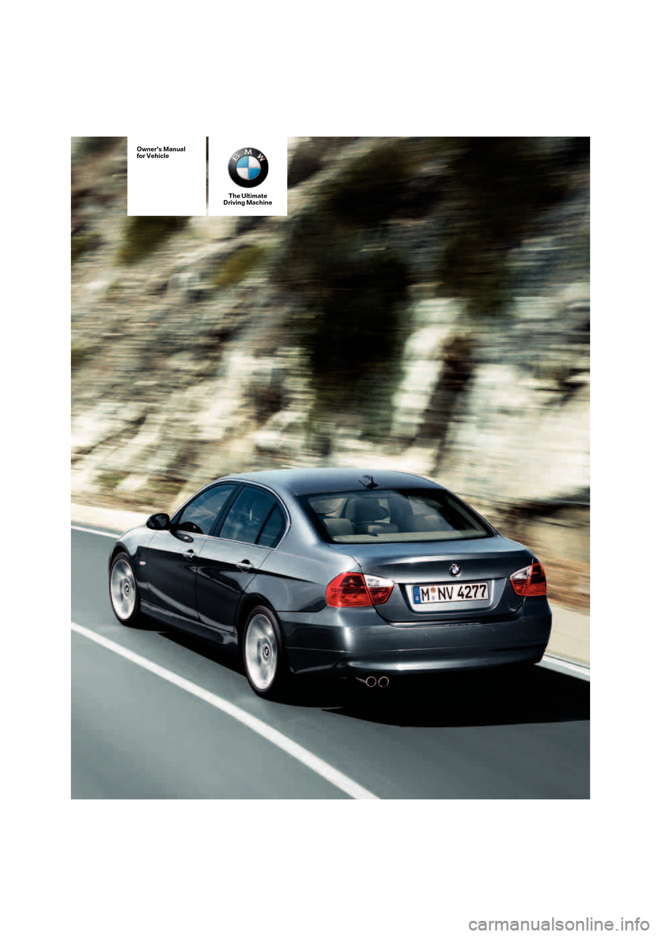 BMW I SEDAN E Owners Manual - Bmw 325i manual