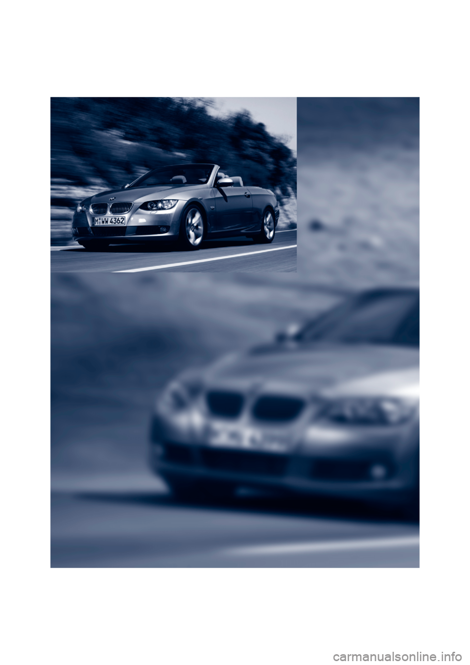 BMW 335I CONVERTIBLE 2007 E93 Owners Manual, Page 10
