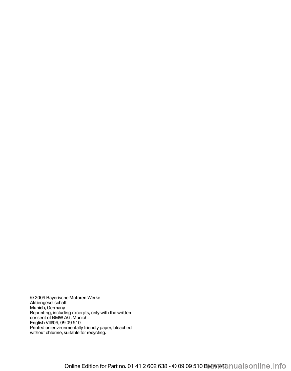 BMW 750I 2010 F01 Owners Manual, Page 4