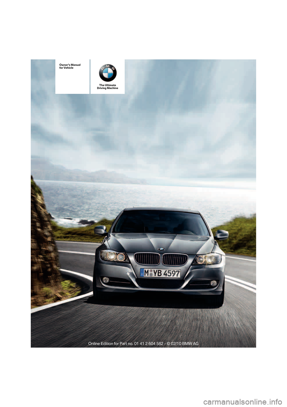 BMW 323I TOURING 2011 E91 Owners Manual, Page 1