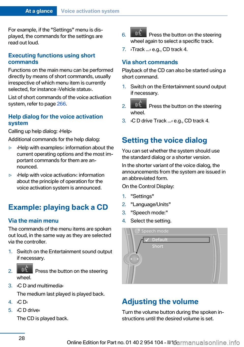 Esp Bmw Z4 2015 E89 Owner S Manual