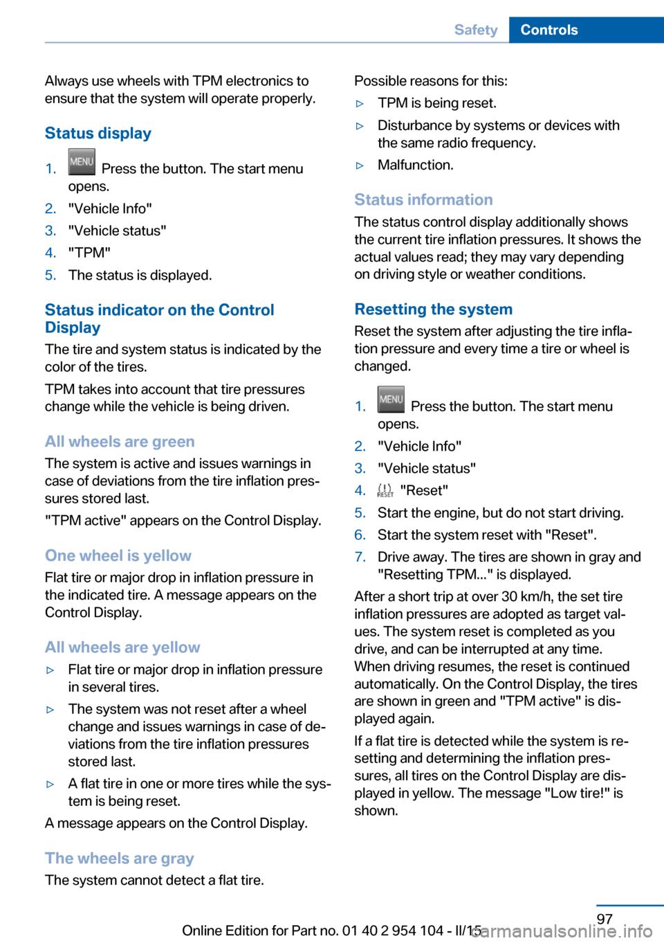 Bmw Z4 2015 E89 Owner S Manual
