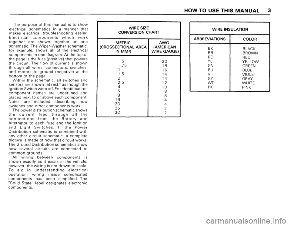 BMW 635csi 1988 E24 Electrical Troubleshooting Manual, Page 5