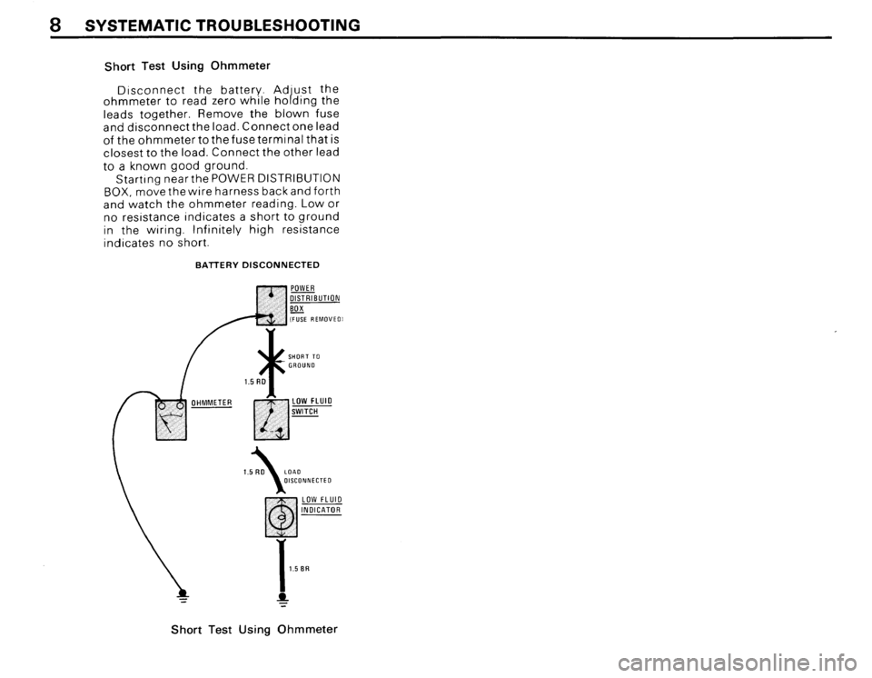 BMW 635csi 1988 E24 Electrical Troubleshooting Manual, Page 10