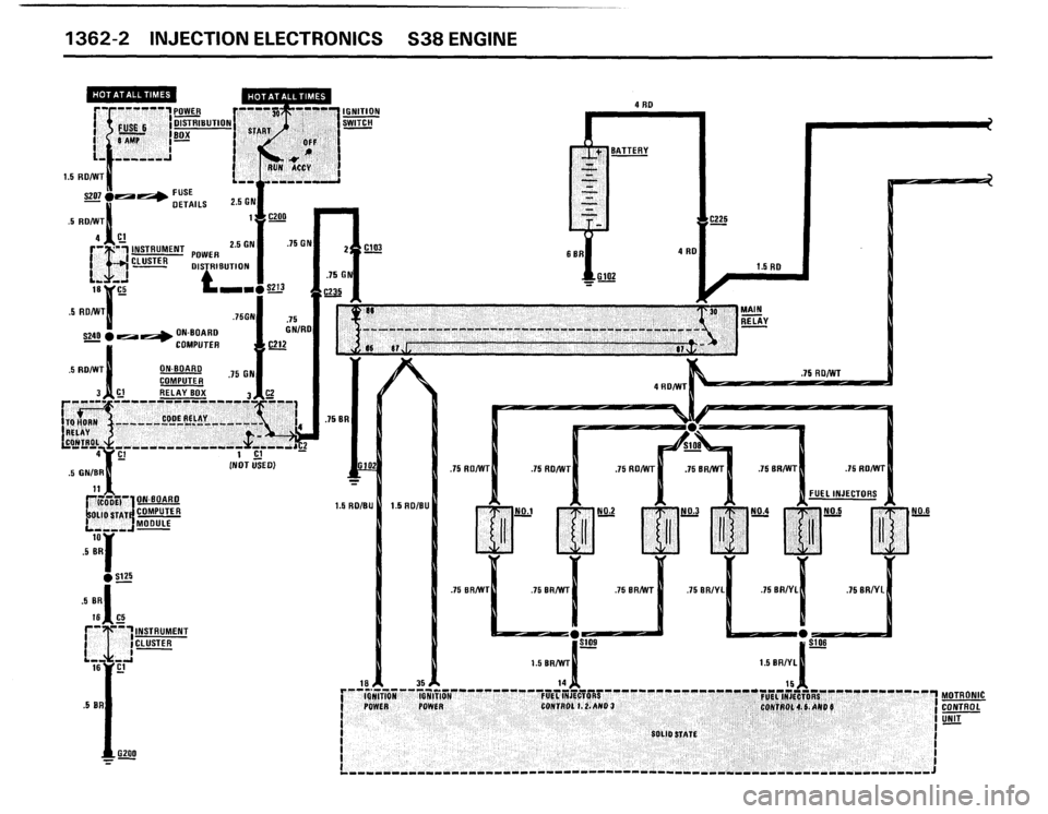Bmw M5 1988 E28 Electrical Troubleshooting Manual  175 Pages