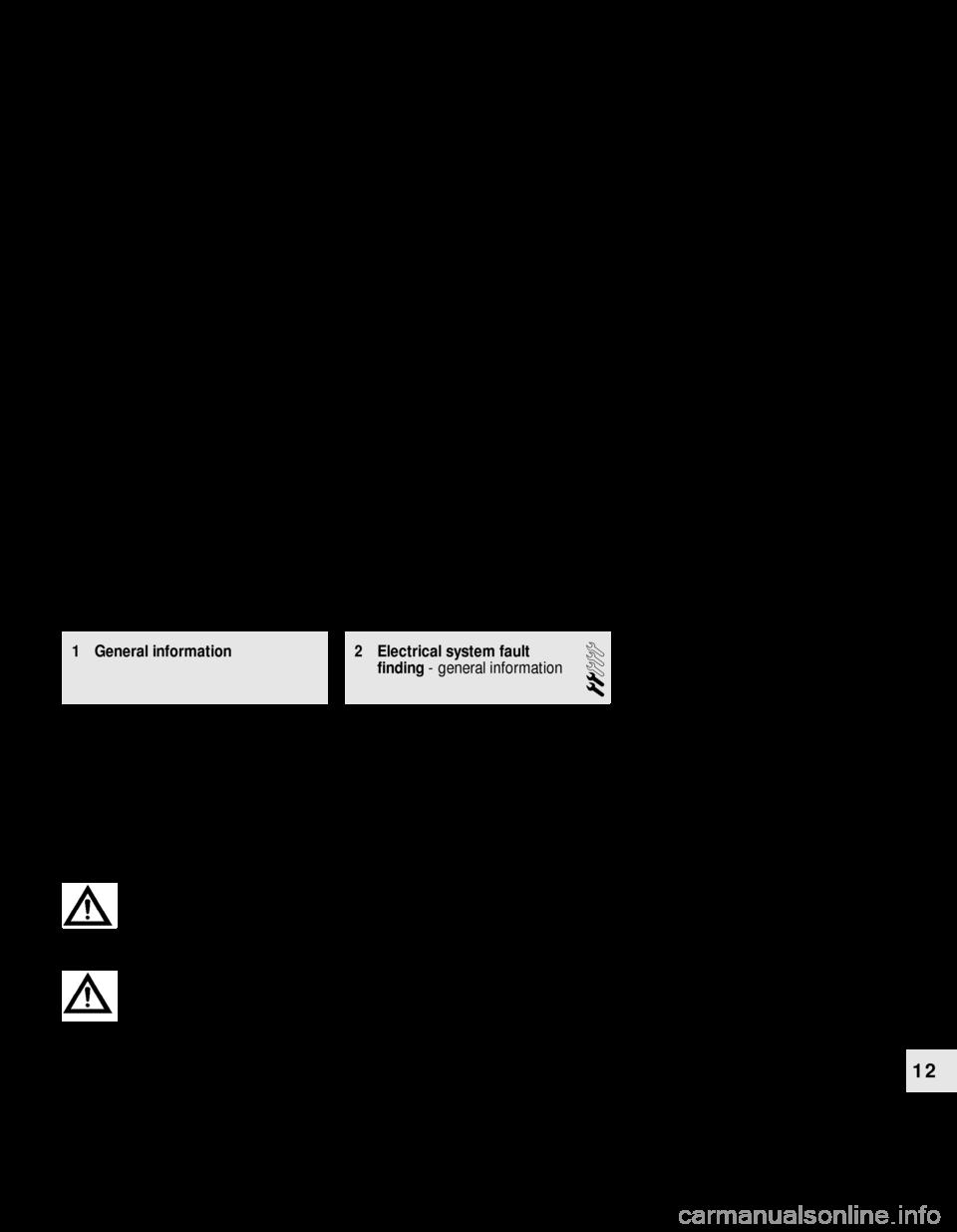 Fuses Bmw 3 Series 1984 E30 Workshop Manual Indicator Wiring Diagram Page 169
