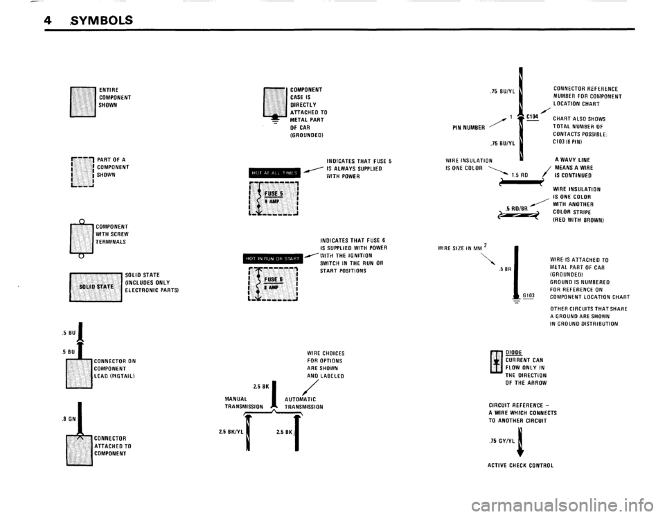 BMW 325i CONVERTIBLE 1988 E30 Electrical Troubleshooting Manual, Page 6