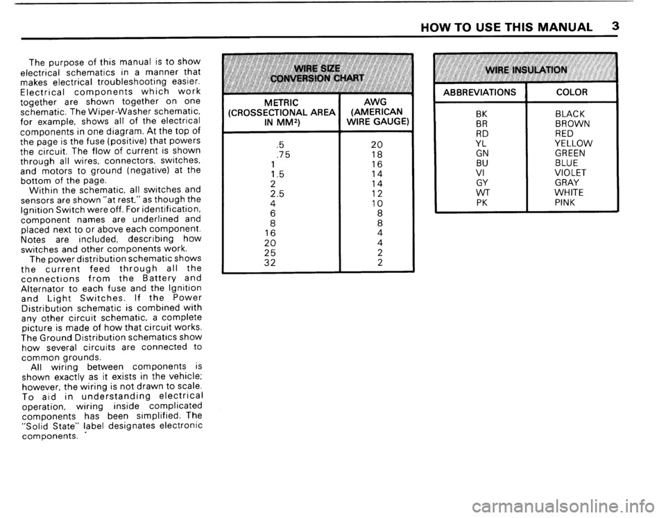 BMW M3 1988 E30 Electrical Troubleshooting Manual, Page 5
