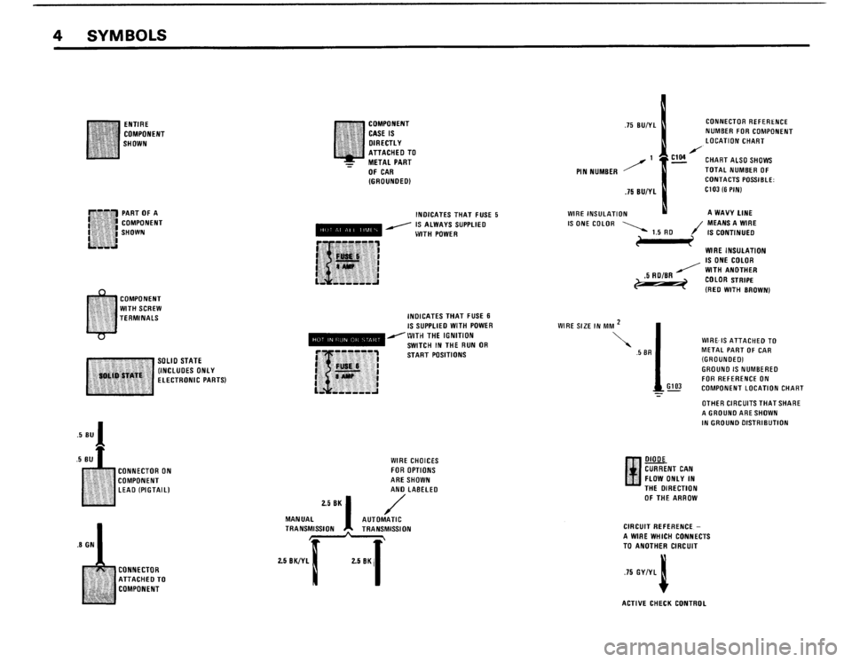 BMW M3 1988 E30 Electrical Troubleshooting Manual, Page 6