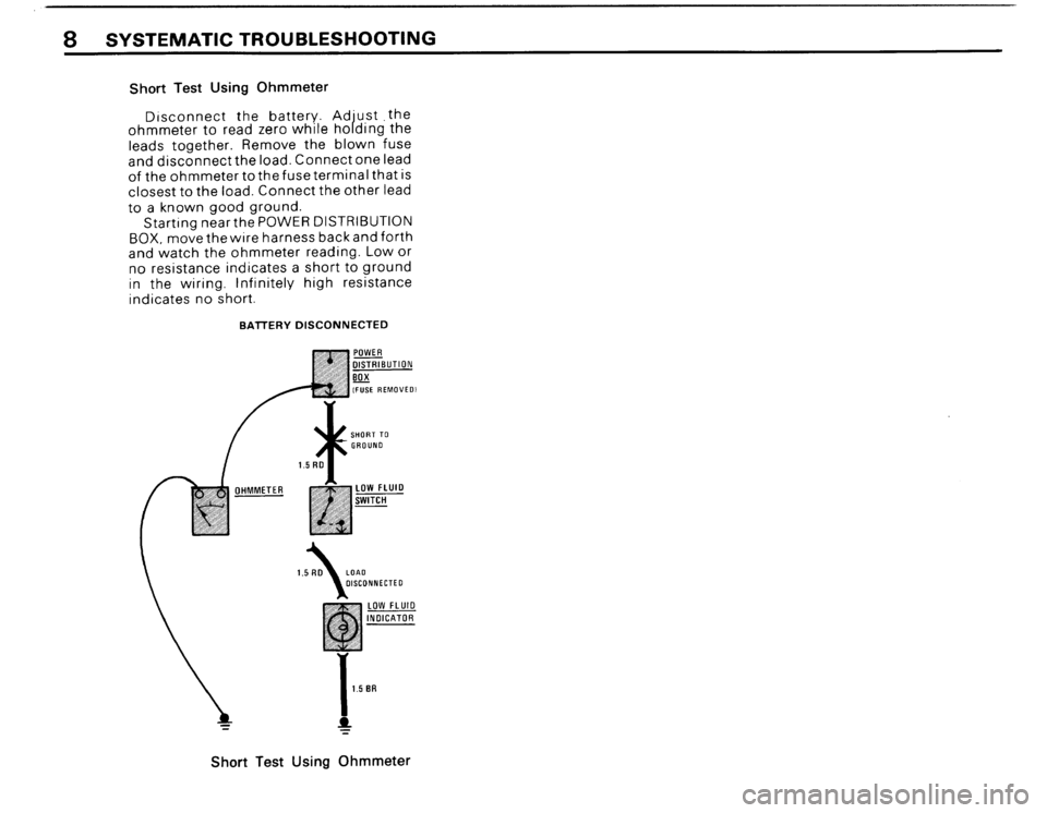 BMW M3 1988 E30 Electrical Troubleshooting Manual, Page 10