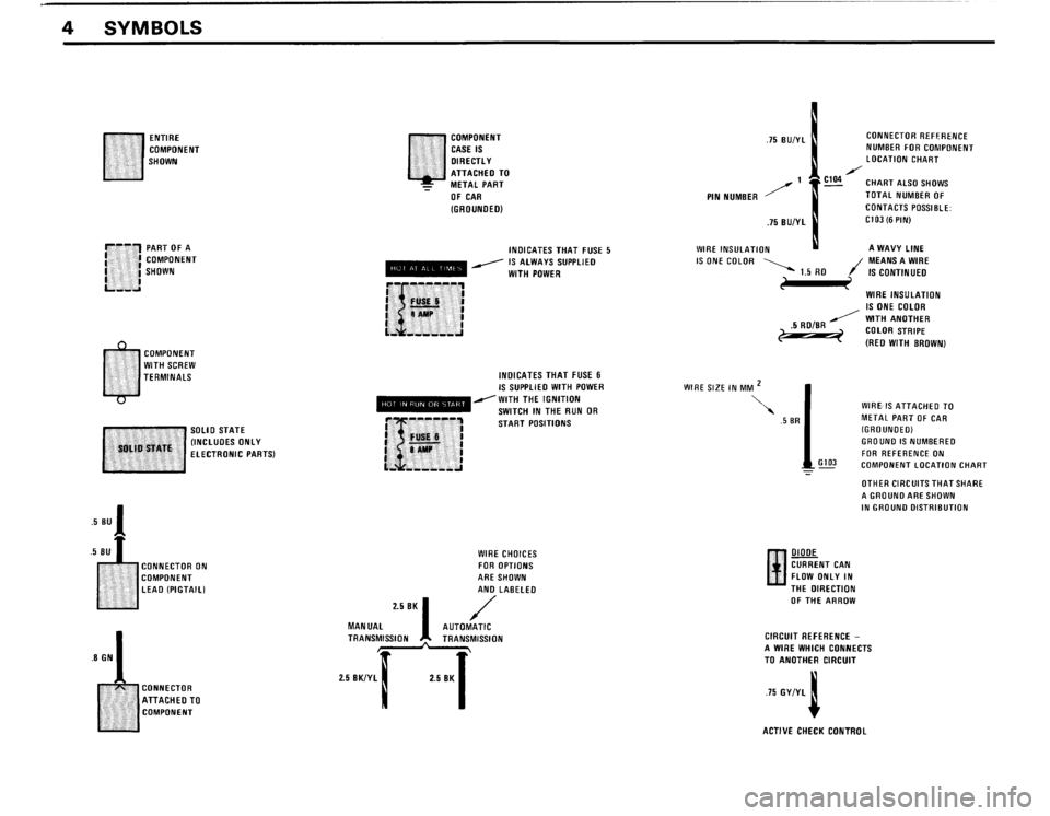 BMW 325i 1989 E30 Electrical Troubleshooting Manual, Page 7