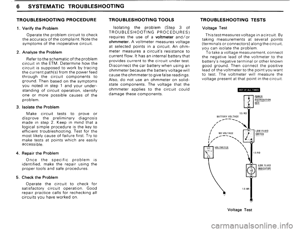 BMW 325i 1989 E30 Electrical Troubleshooting Manual, Page 9