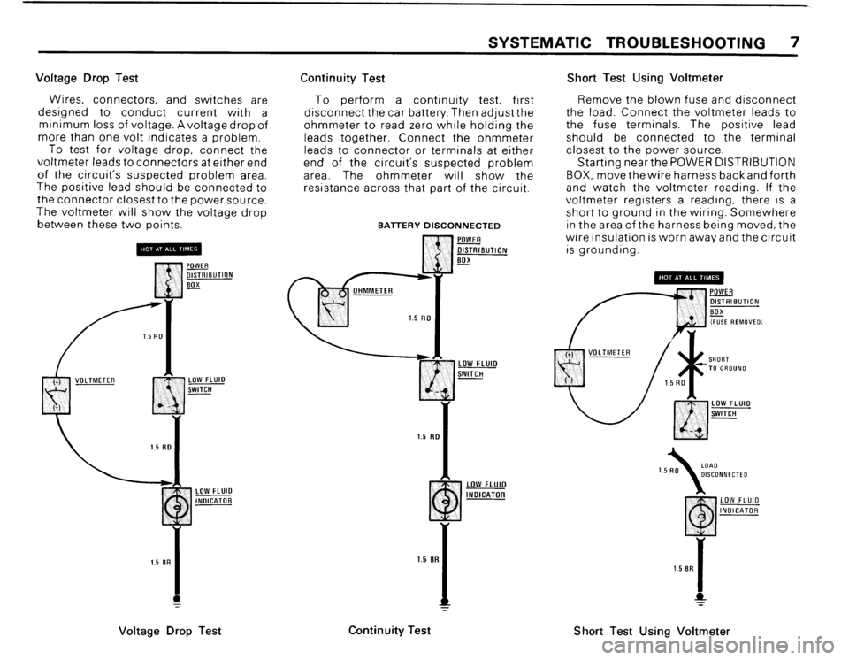 BMW 325i 1989 E30 Electrical Troubleshooting Manual, Page 10