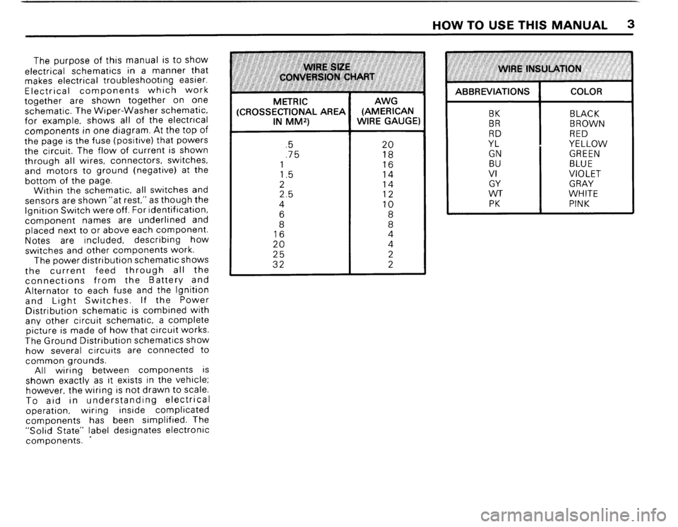 BMW 325ix 1989 E30 Electrical Troubleshooting Manual, Page 5
