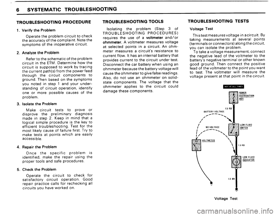 BMW 325ix 1989 E30 Electrical Troubleshooting Manual, Page 8