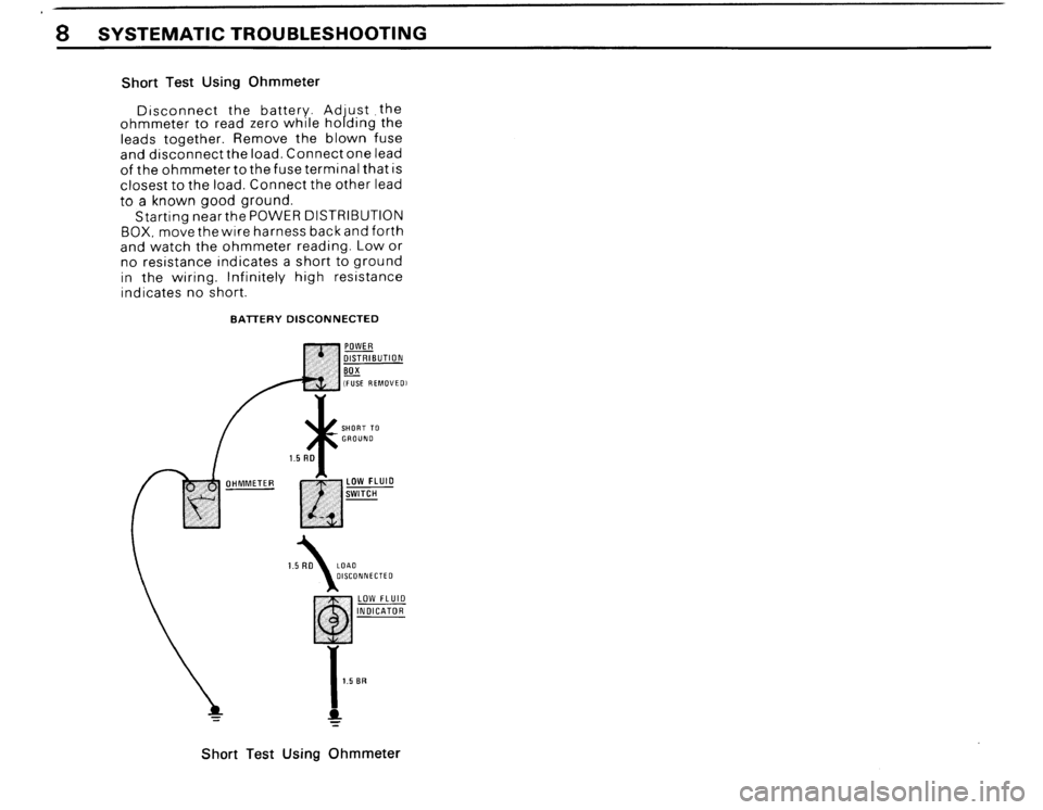 BMW 325ix 1989 E30 Electrical Troubleshooting Manual, Page 10