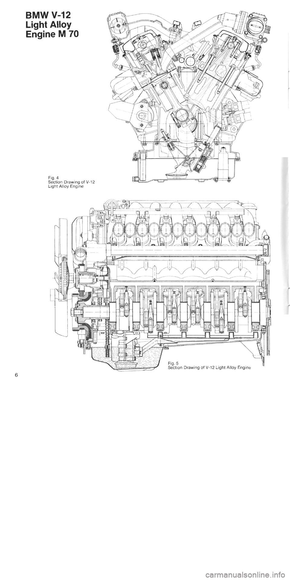 bmw 850i 1994 e31 m70 engine workshop manual