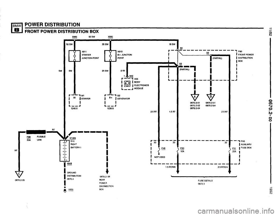 BMW 850i 1992 E31 Electrical Troubleshooting Manual, Page 27