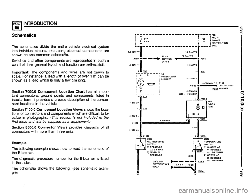 BMW 535i 1989 E34 Electrical Troubleshooting Manual, Page 4