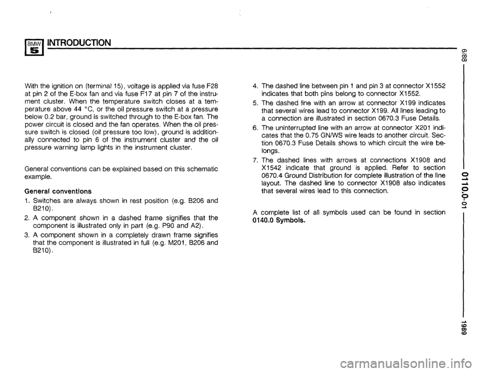 BMW 535i 1989 E34 Electrical Troubleshooting Manual, Page 5