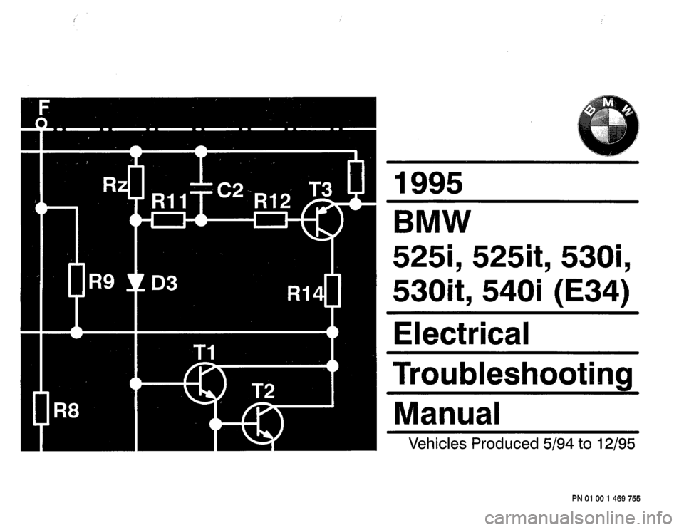 Bmw E36 Alternator Wiring Diagram : Bmw i e electrical troubleshooting manual