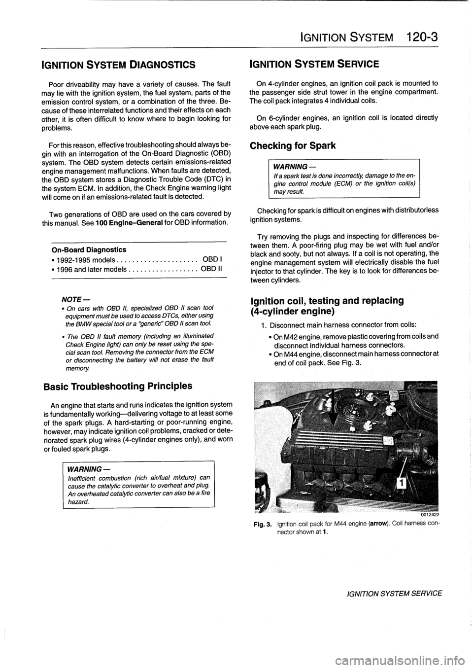 Bmw 325i 1992 E36 Workshop Manual Wiring Harness Removal