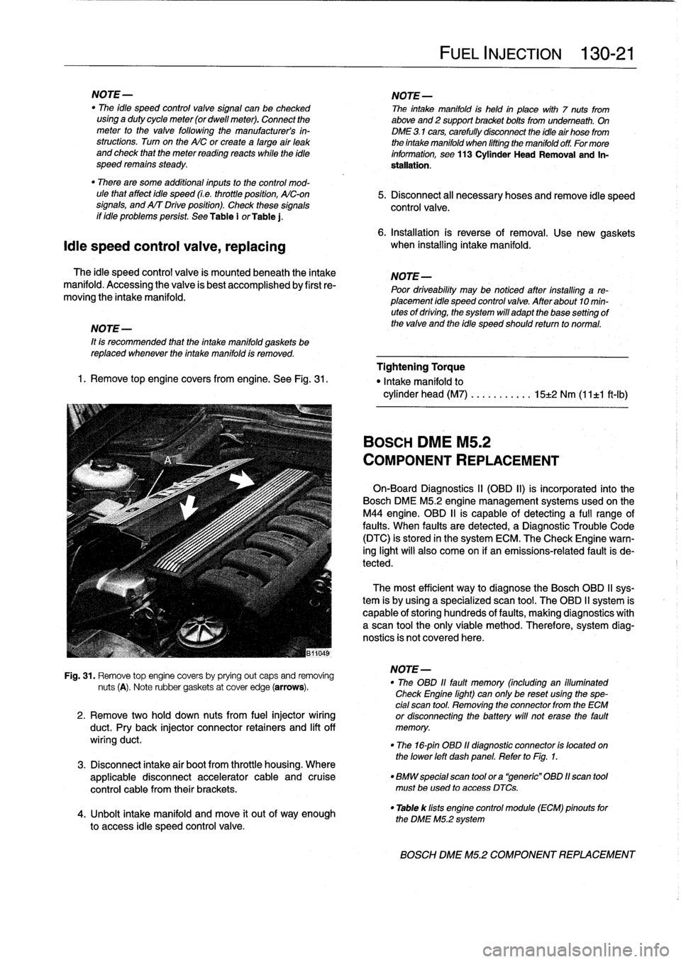 Battery Bmw 318i 1996 E36 Workshop Manual 318ti Engine Diagram Intake Page 167