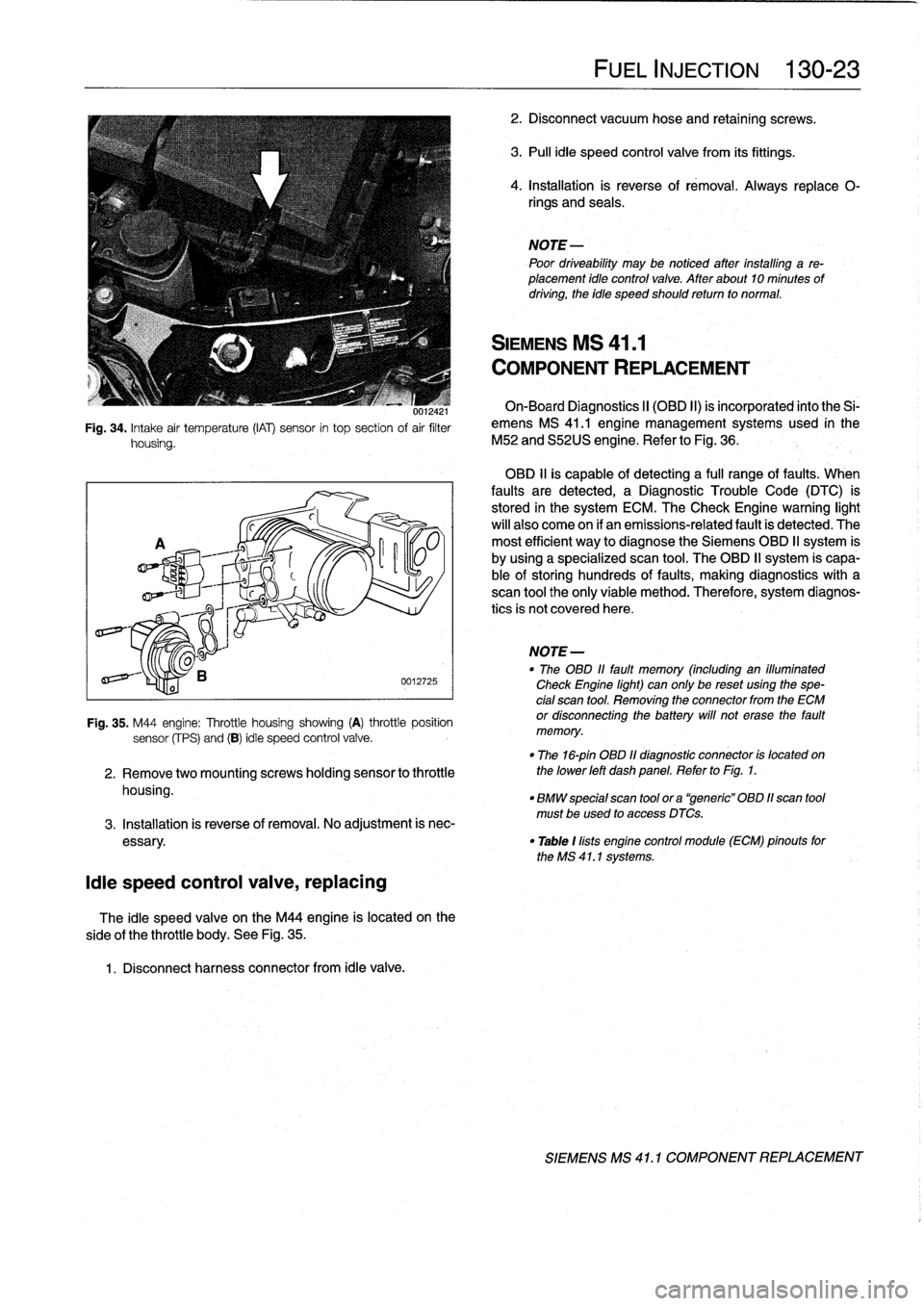 Battery Bmw 318i 1996 E36 Workshop Manual 318ti Engine Diagram Intake Page 169