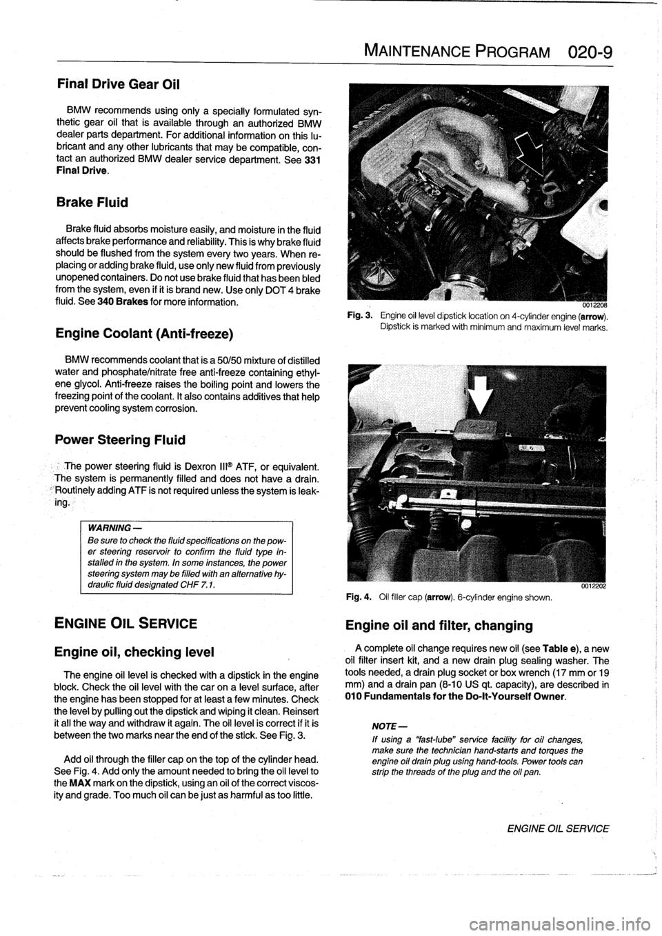 Bmw 325i 1997 E36 Workshop Manual Oil Drain Plug Location