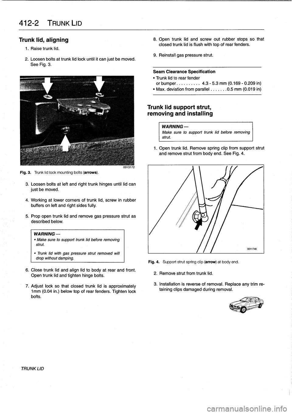 bmw 328i 1997 e36 workshop manual