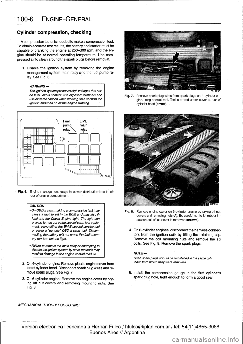 service manual  manual repair engine for a 1996 bmw m3