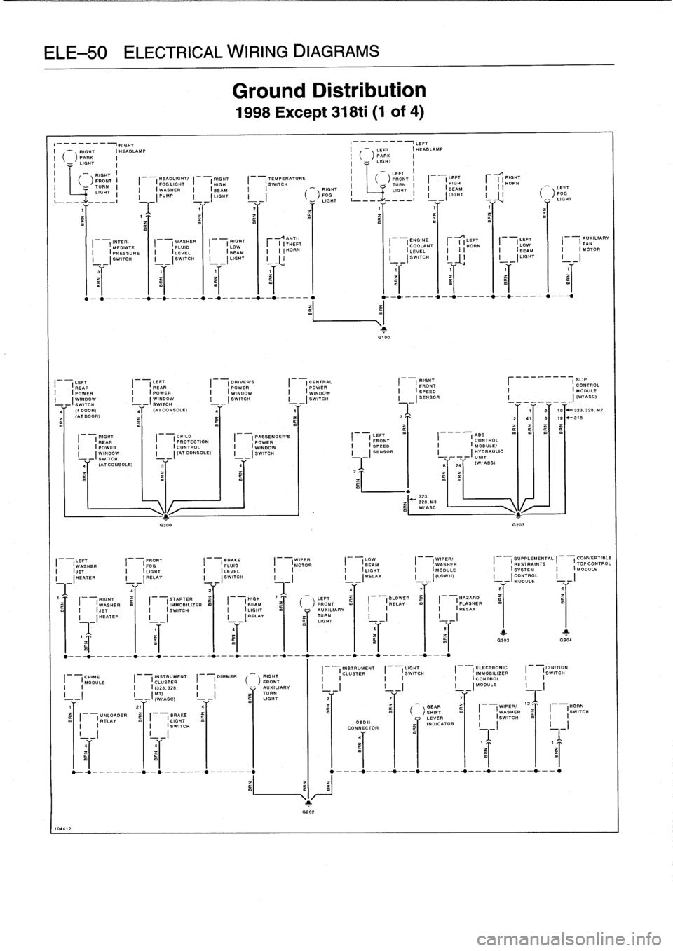 BMW 323i 1993 E36 Workshop Manual, Page 534