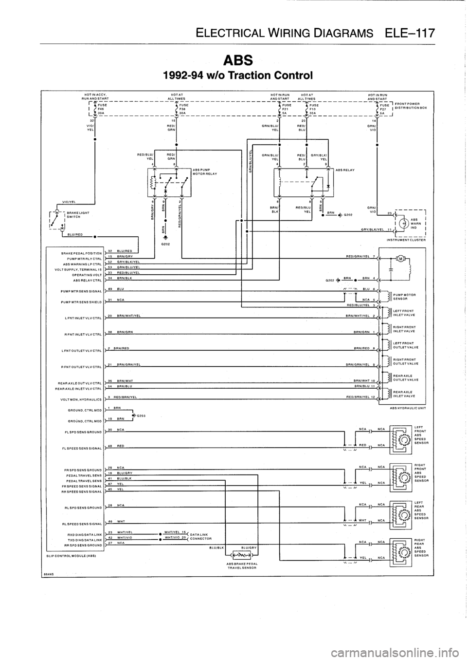 bmw e36 radio wiring diagram e36 abs wiring diagram #1