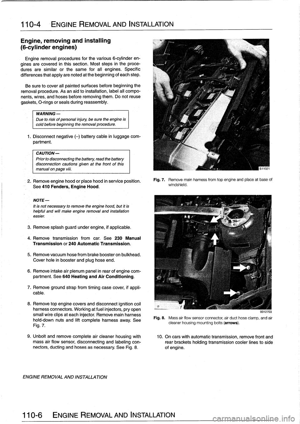 Bmw 325i 1994 E36 Workshop Manual 94 Engine Wiring Harness