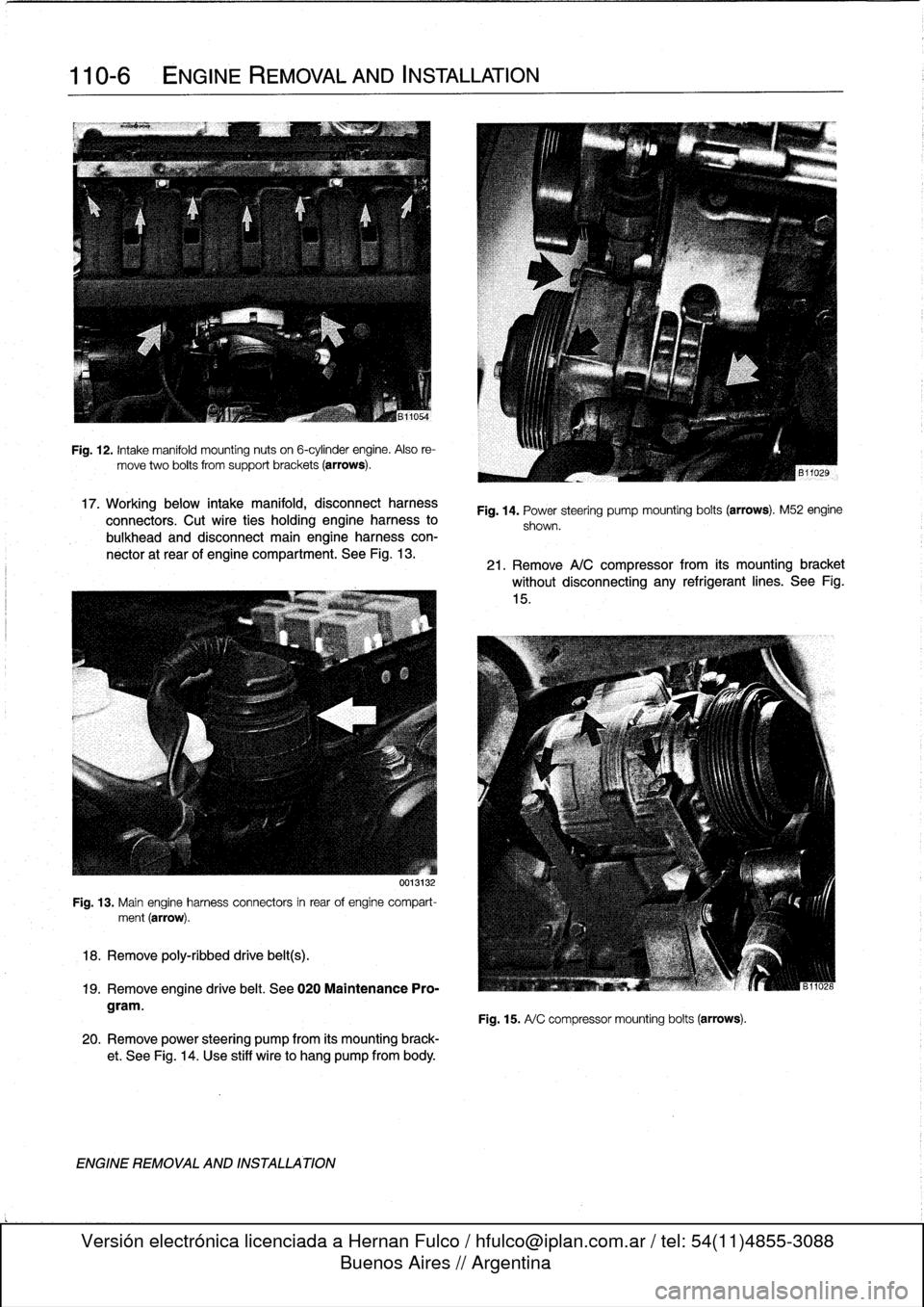 Bmw 328i 1992 E36 Workshop Manual Wiring Harness 328