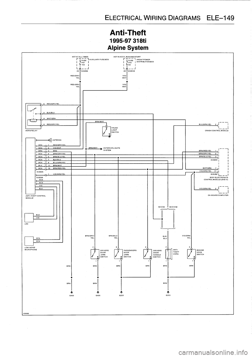 Bmw Transmission Wiring Diagram With Description Jeffdoedesign
