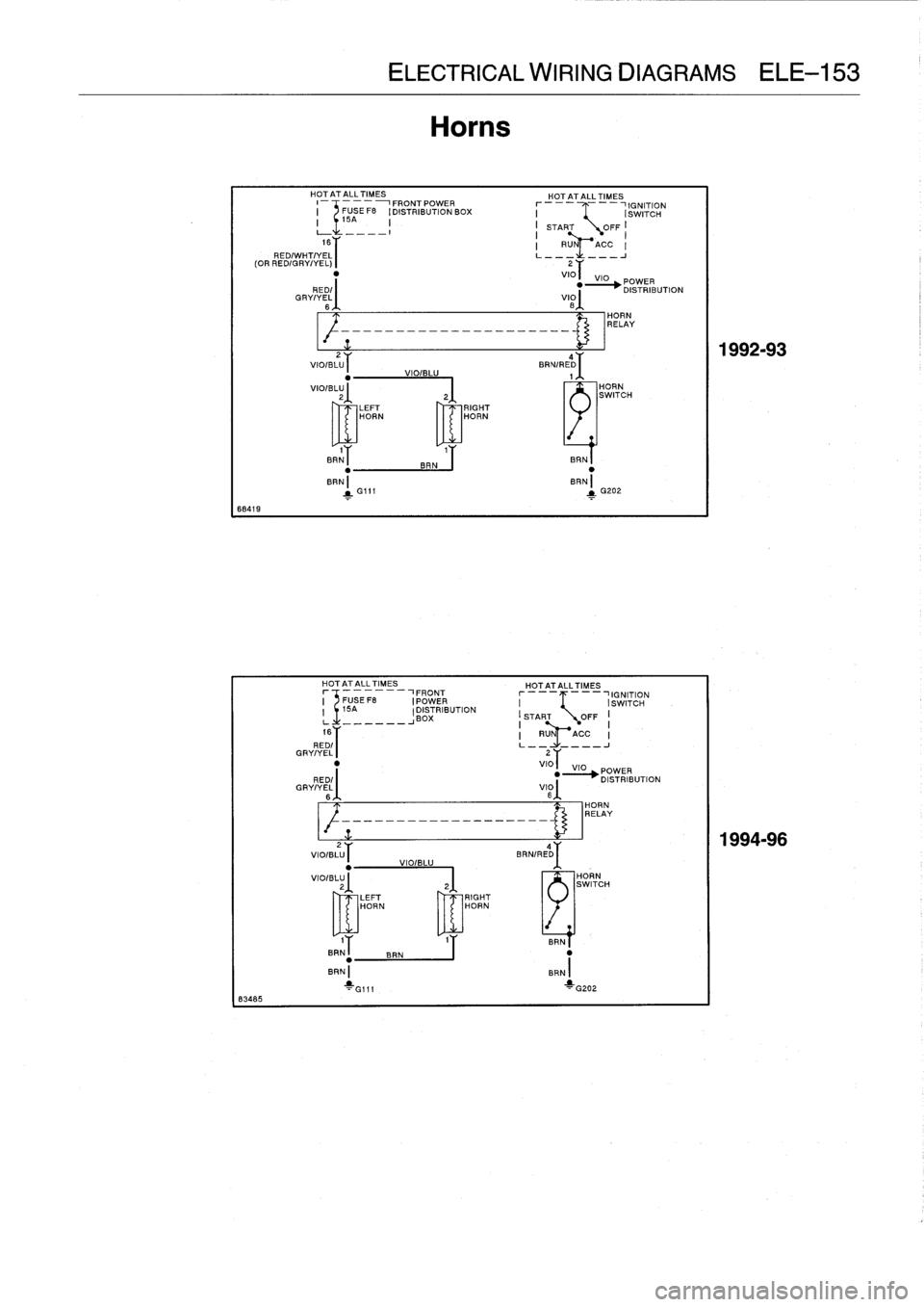 Bmw M3 1996 E36 Workshop Manual  759 Pages   Page 640  Ele