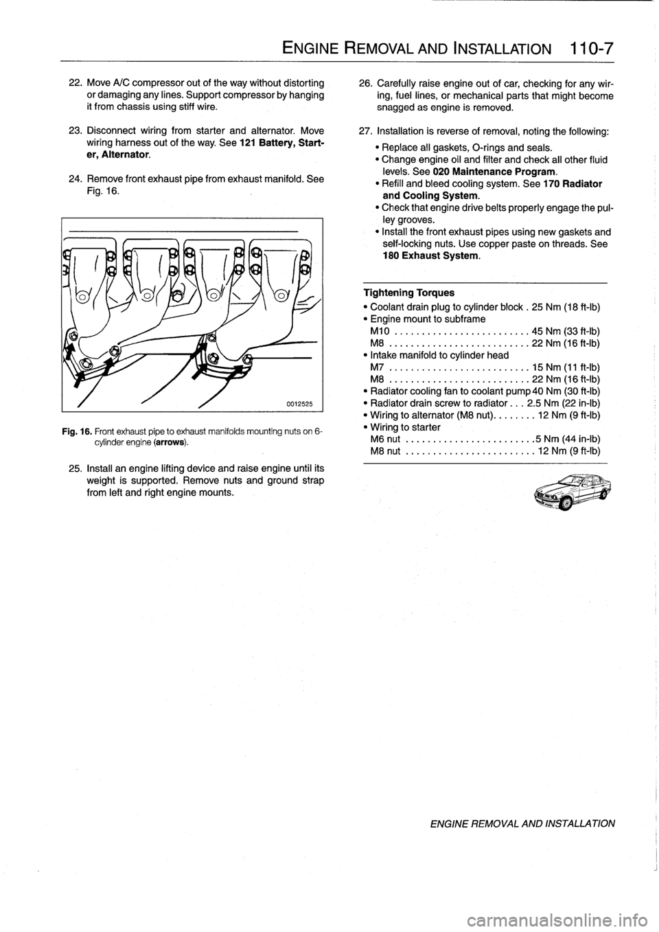 Bmw 328i 1992 E36 Workshop Manual Wiring Harness