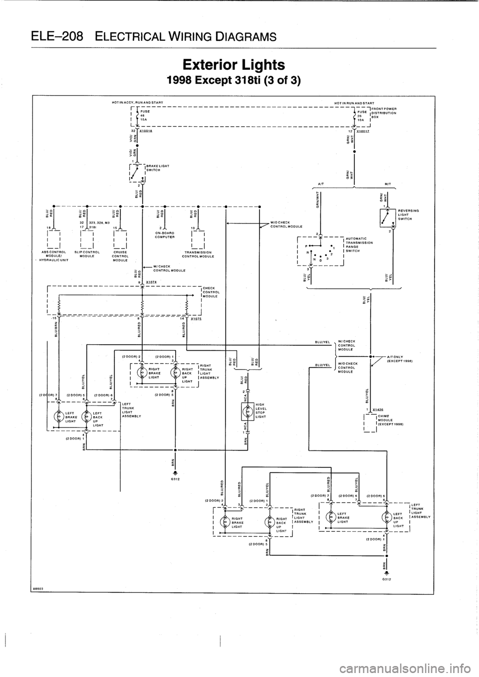 2004 Bmw 325ci Fuse Box Wiring Schematic 2019 135i Diagram 1997 318ti