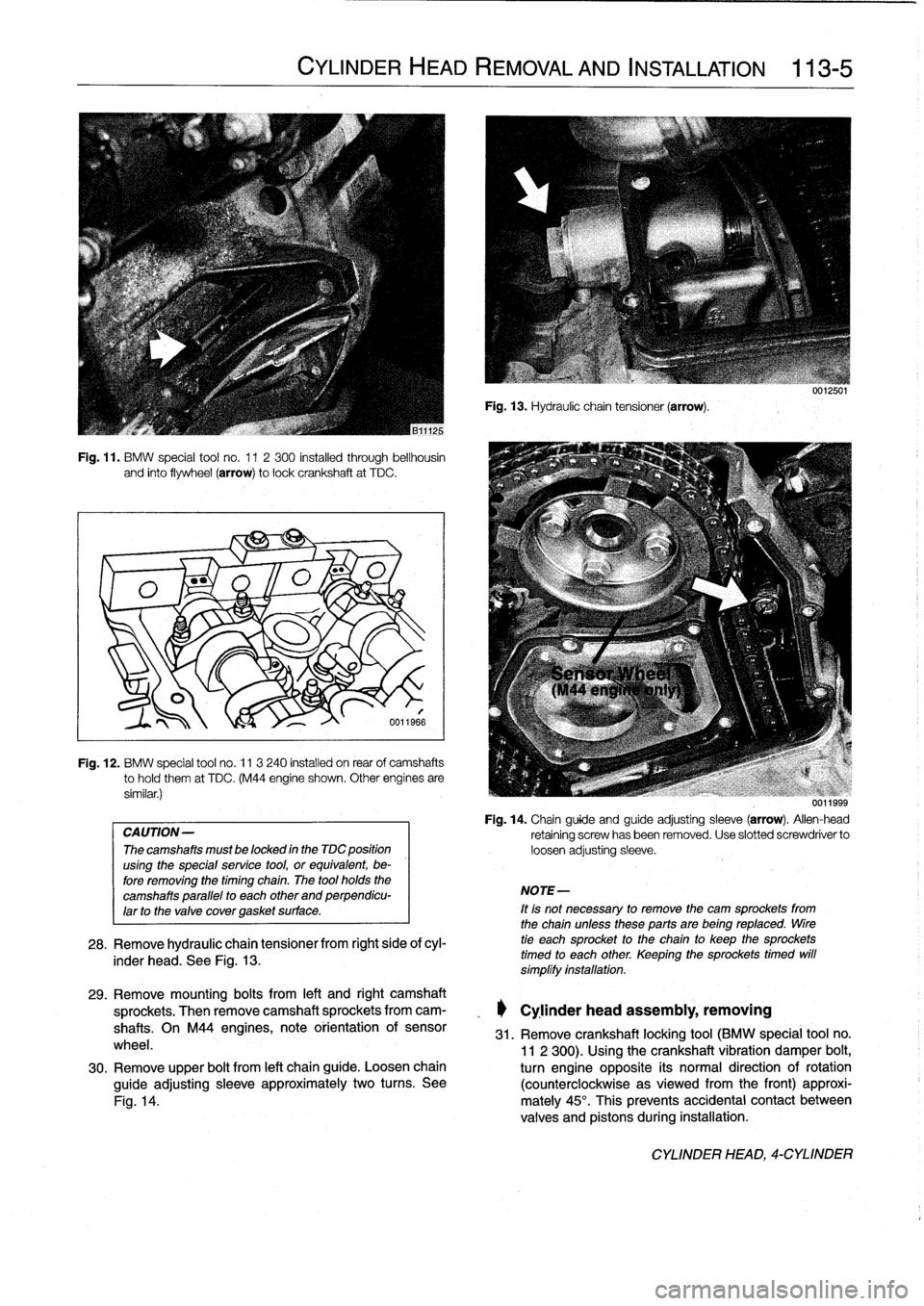 BMW 318i 1994 E36 Workshop Manual