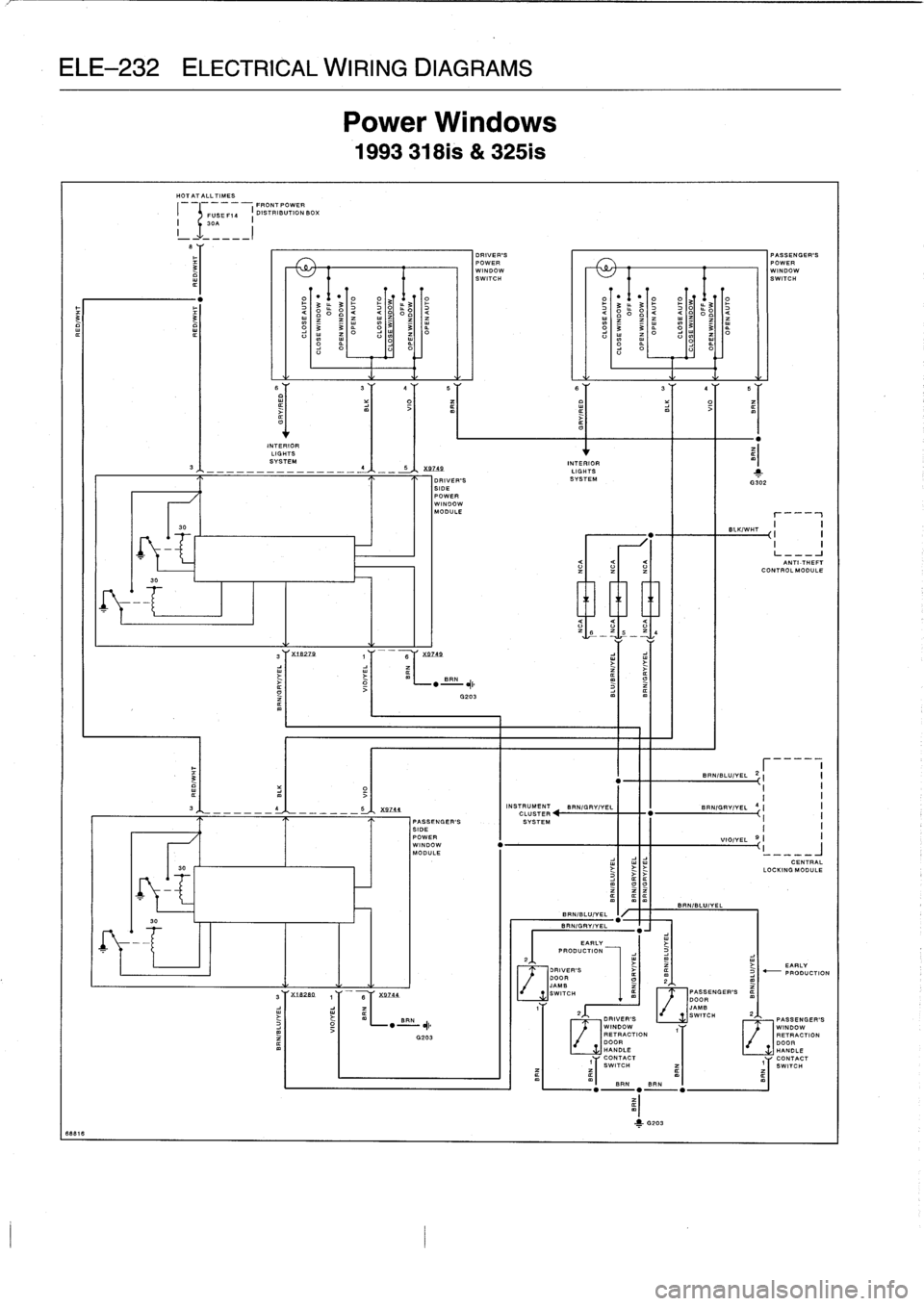 Bmw 325 1992 Fuse Box Usb Wiring Diagrams 325i Traction Control E36 Workshop Manual W960 2800 714 Srchtraction
