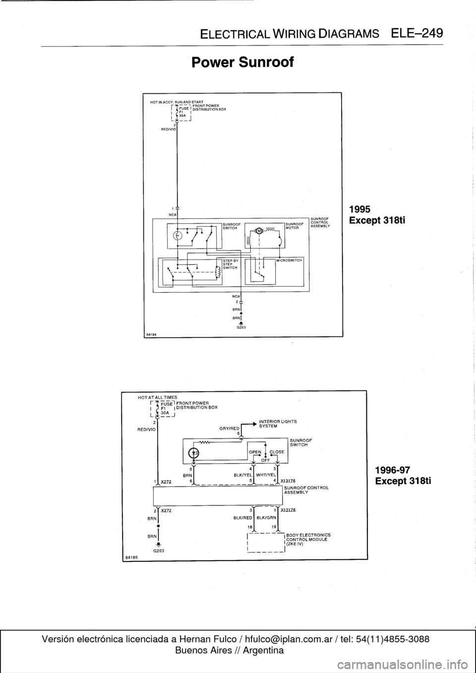 Bmw 323i 1996 E36 Workshop Manual Zke Wiring Diagram