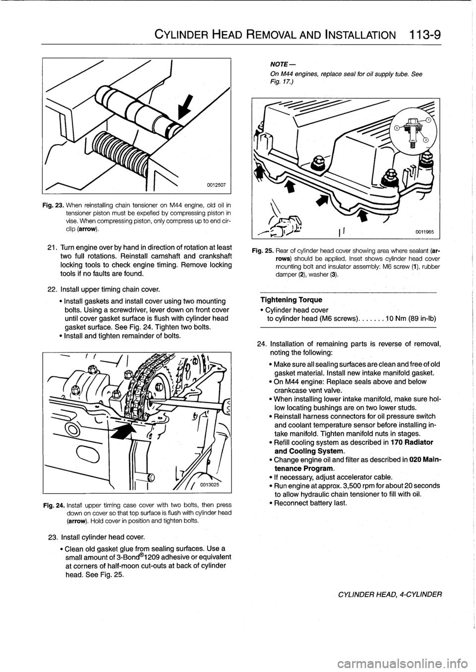 bmw 318i e36 workshop manual