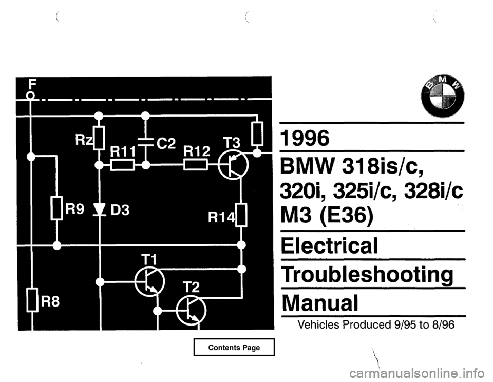Bmw 328i 1996 e36 electrical troubleshooting manual fandeluxe Choice Image