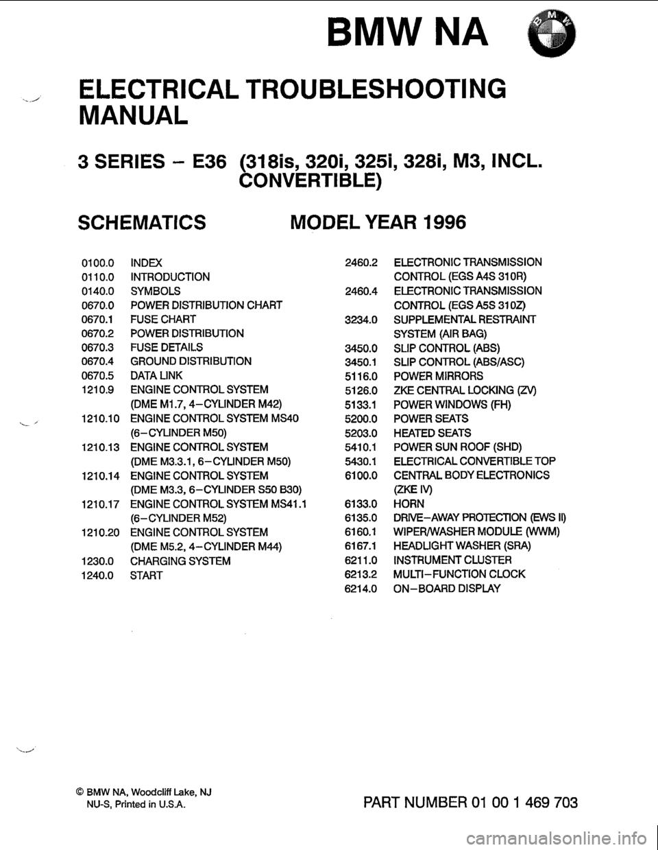 Bmw 328i 1996 E36 Electrical Troubleshooting Manual Zke Wiring Diagram