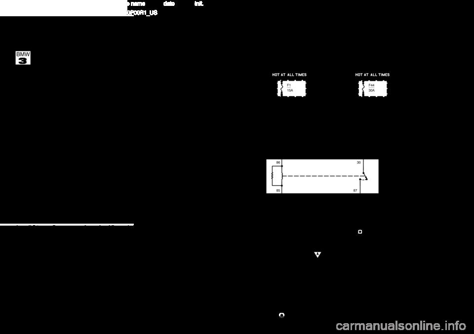 bmw 318ti 1997 e36 electrical troubleshooting manual1997 Bmw E36 5 318ti Electrical Schematic Diagram #10
